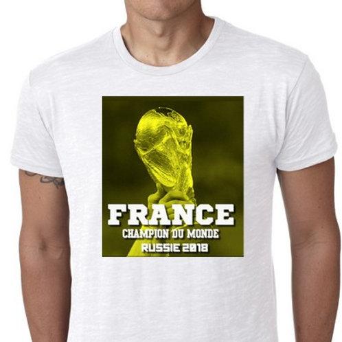 FRANCE CHAMPION DU MONDE 2018 TSHIRT