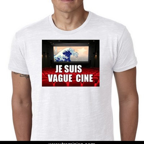 je suis Vague ciné tee shirt Vaccin