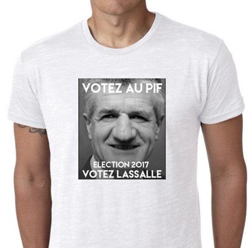JE VOTE AU PIF JE VOTE LASSALLE