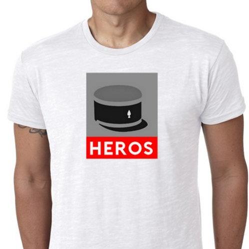 heros tee shirt gendarme