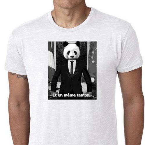 MACRON PANDA  et en même temps