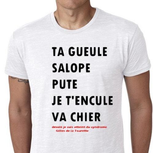 GILLES DE LA TOURETTE TEE SHIRT