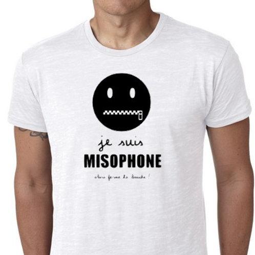 je suis misophone tee shirt