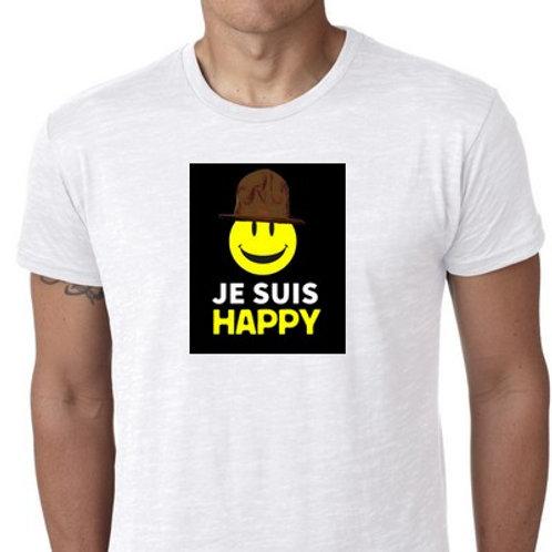 JE SUIS HAPPY TEE SHIRT