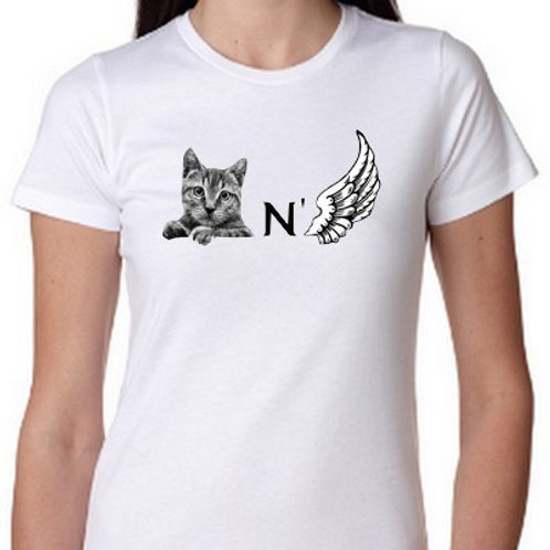 chat n'aile tee shirt chanel