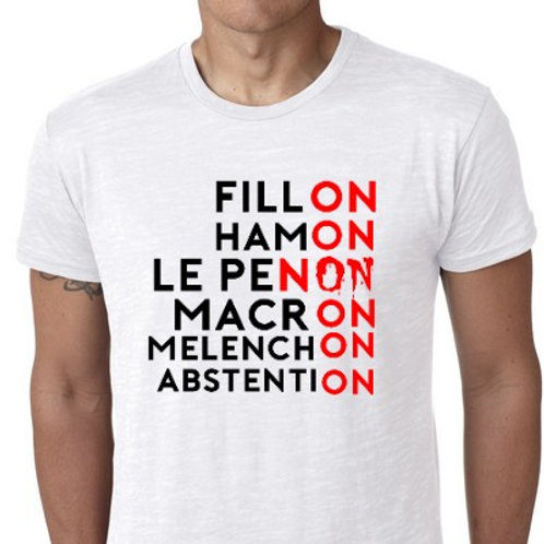 le tee shirt ELECTION ON