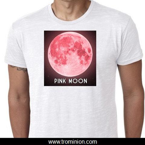 pink moon tshirt