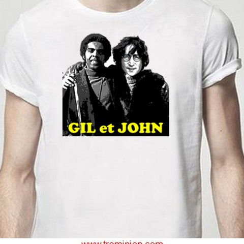gil et john tee shirt gilet jaune