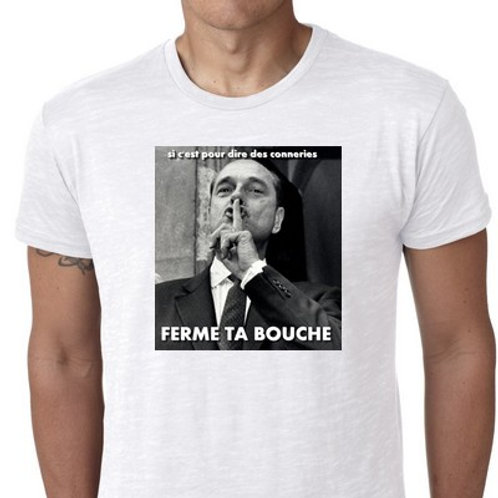 Ferme ta bouche tee shirt
