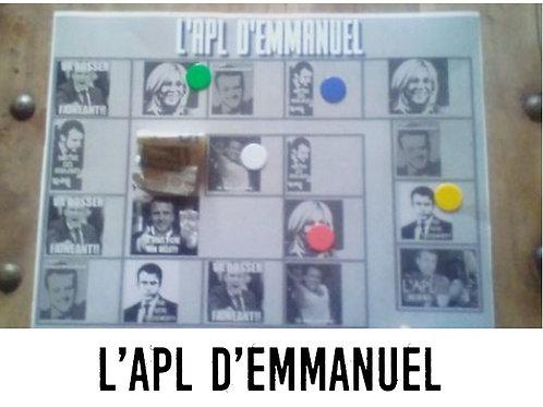 APL d'EMMANUEL  le jeu macron