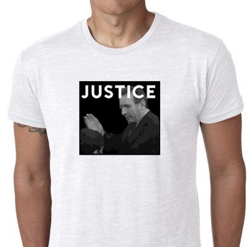 JUSTICE BAYROU GIFLE TEE SHIRT