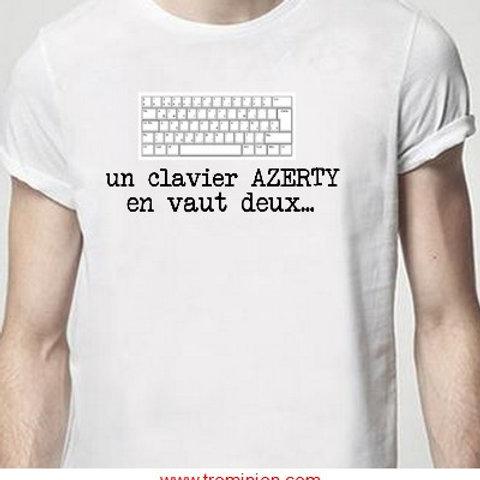 un clavier azerty en vaut 2