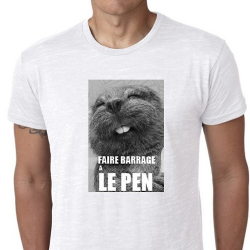 FAIRE BARRAGE CONTRE LE PEN CASTOR