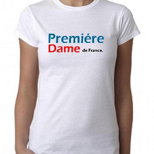 TEE SHIRT PREMIERE DAME DE FRANCE