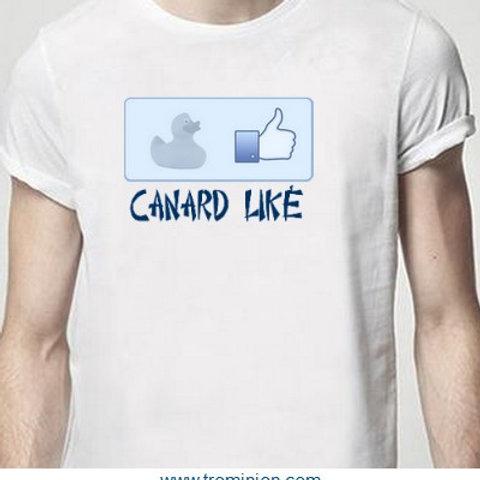 canard liké tee shirt