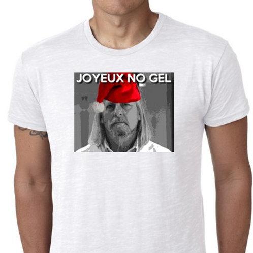 joyeux no gel Raoult tee shirt