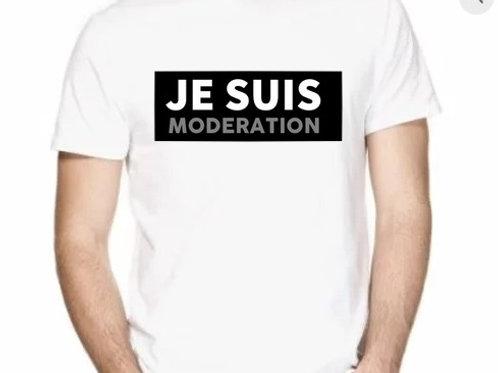 je suis modération tee shirt