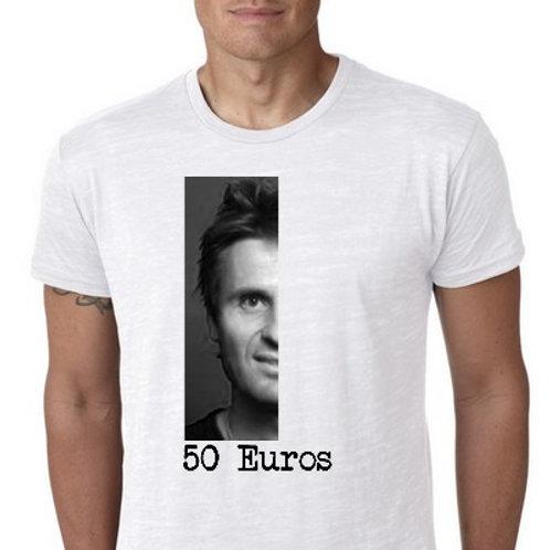 le tee shirt 50 Euros