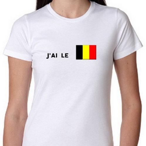 J AI LE SEUM BELGE TEE SHIRT