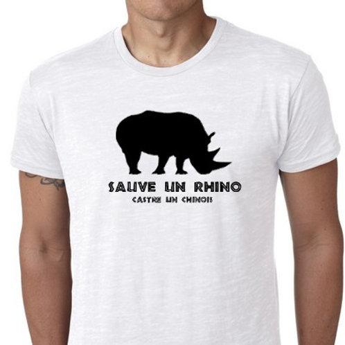 sauve un rhino castre un chinois