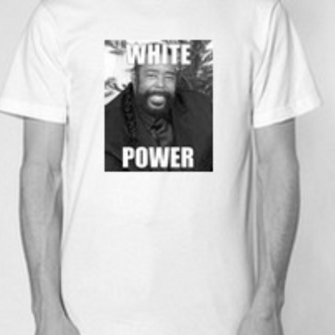 WHITE POWER (barry) TEE SHIRT