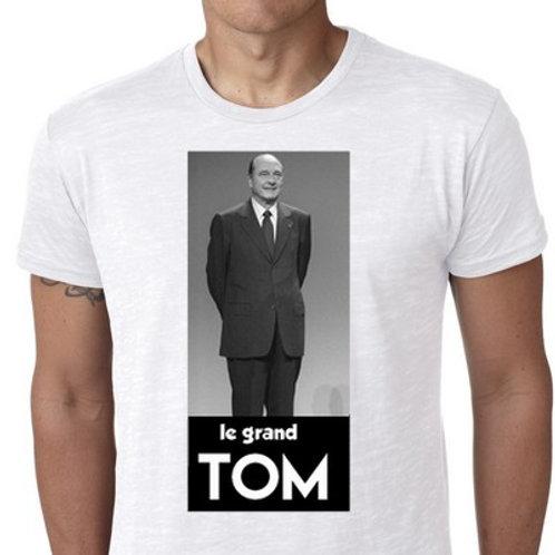 le grand TOM tee shirt CHIRAC