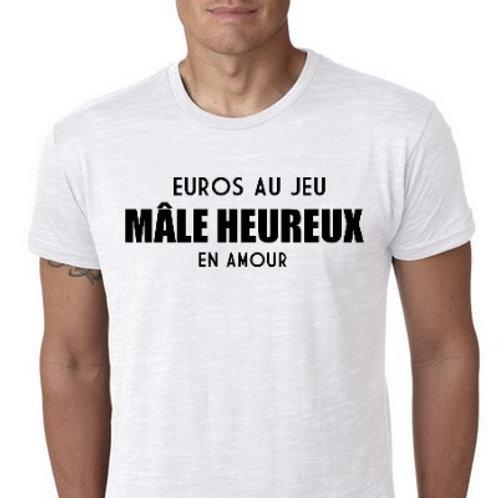 EUROS au Jeux mâle heureux en amour