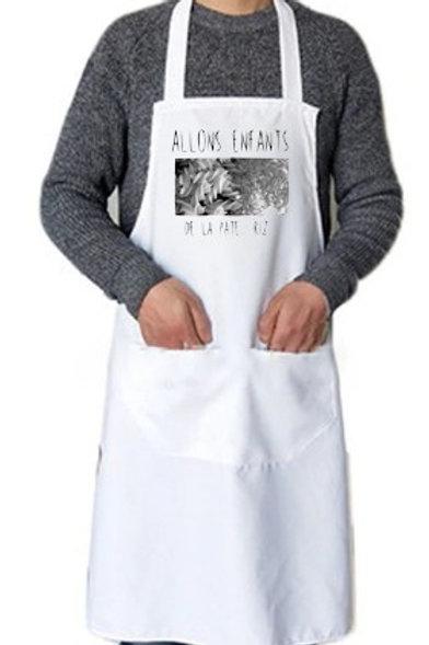 tablier de cuisine en nylon allons enfants de la pate riz