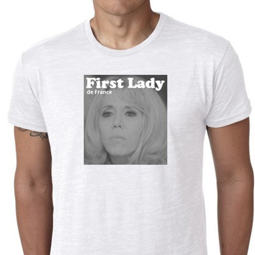 TEE SHIRT FIRST LADY BRIGITTE MACRON