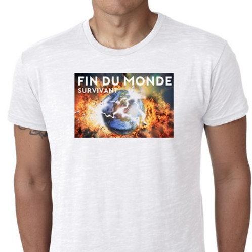 fin du monde survivor tee shirt