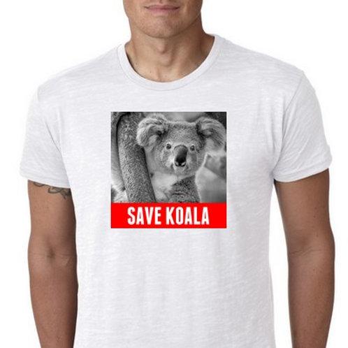 SAVE KOALA TEE SHIRT