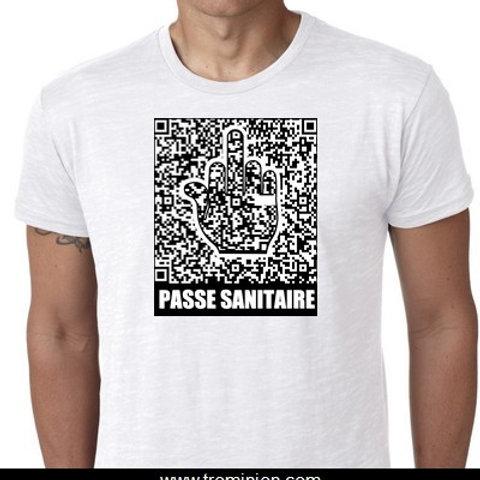 PASSE SANITAIRE TEE SHIRT