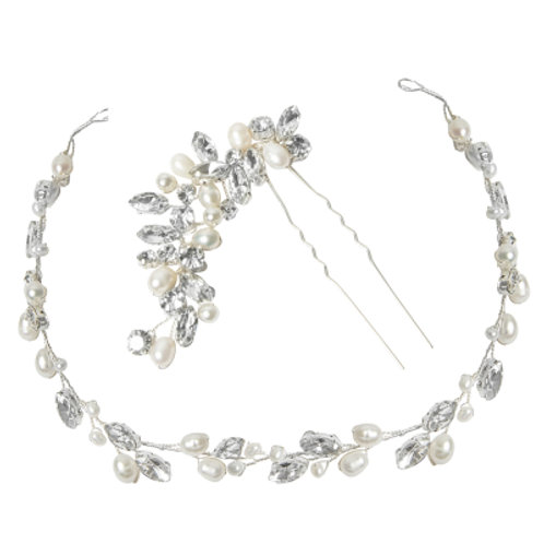 Bridal Hair Vine & Pin ATHP154