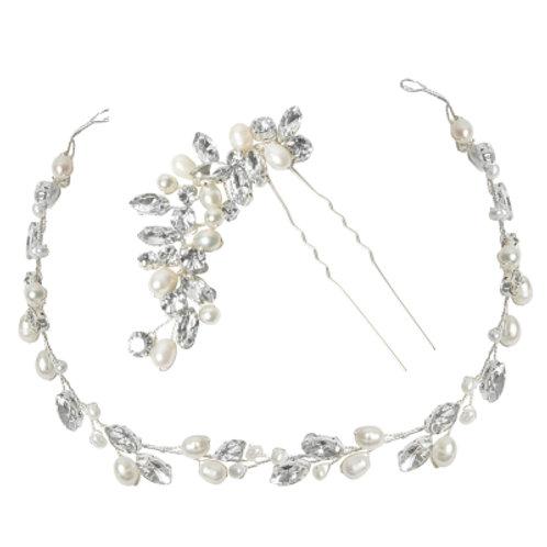 Bridal Hair Vine & Pin ATHP154