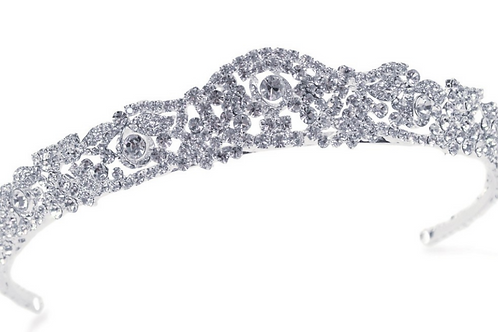 Full Crystal Tiara