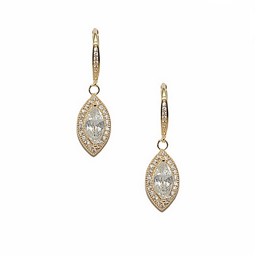 Bridal Earrings - CZER362/1463