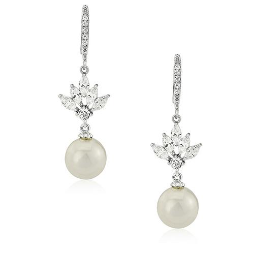Bridal Earrings - CZER407/1493