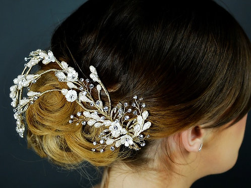 Bridal Hair Vine TLH3015