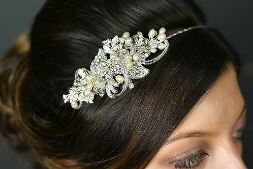 Side Design Bridal Tiara TLT4631