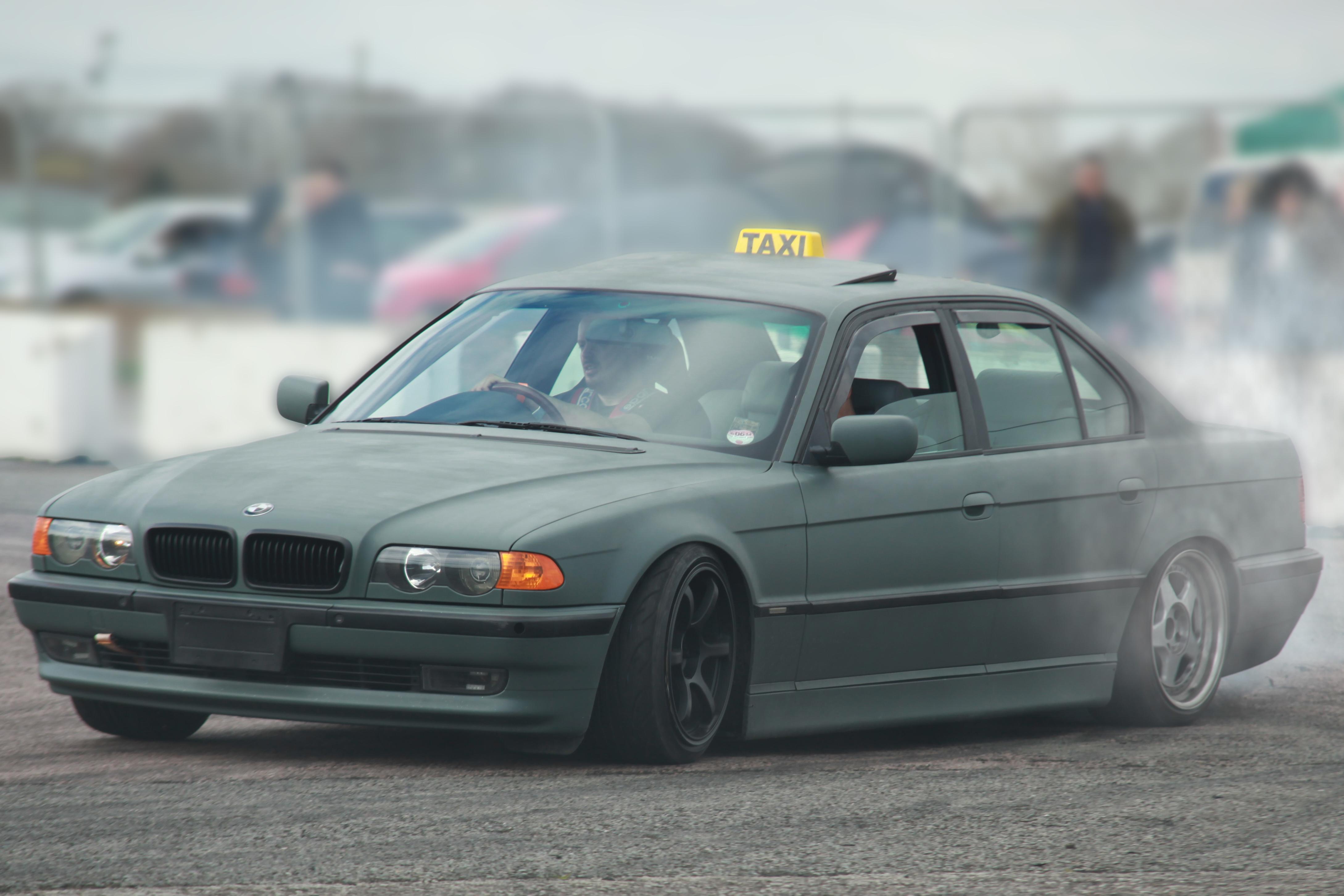 drifting taxi