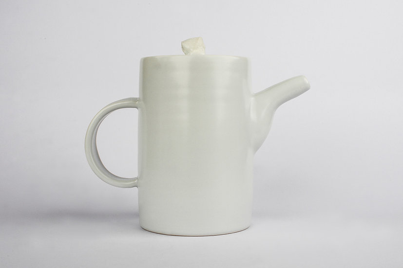 White Porcelain Small Tea Pot