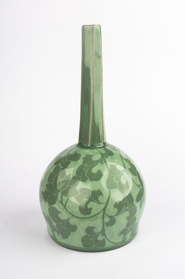 Celadon Wine Flask