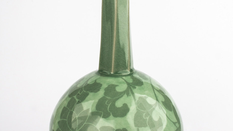 Celadon Wine Flask