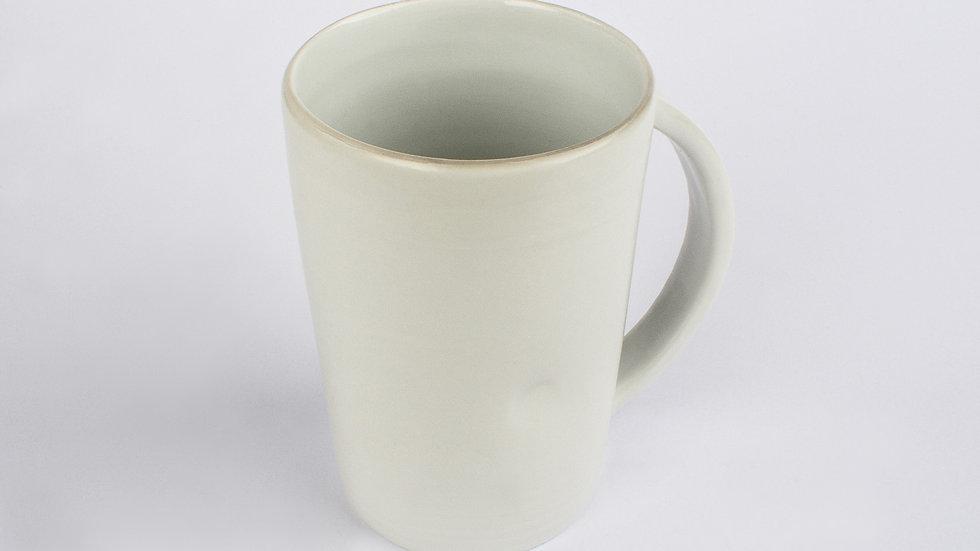 White Porcelain Taller Large Mug