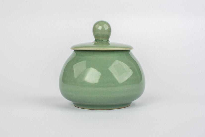 Celadon Small Lidded Bowl