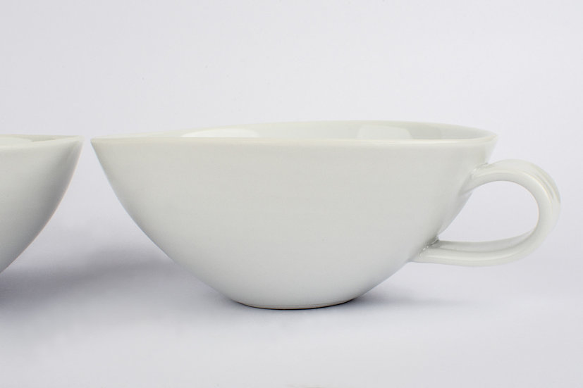 White Porcelain Tea Cups