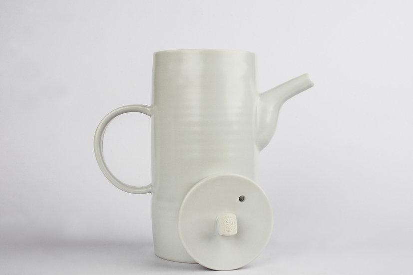 White Porcelain Taller Tea Pot
