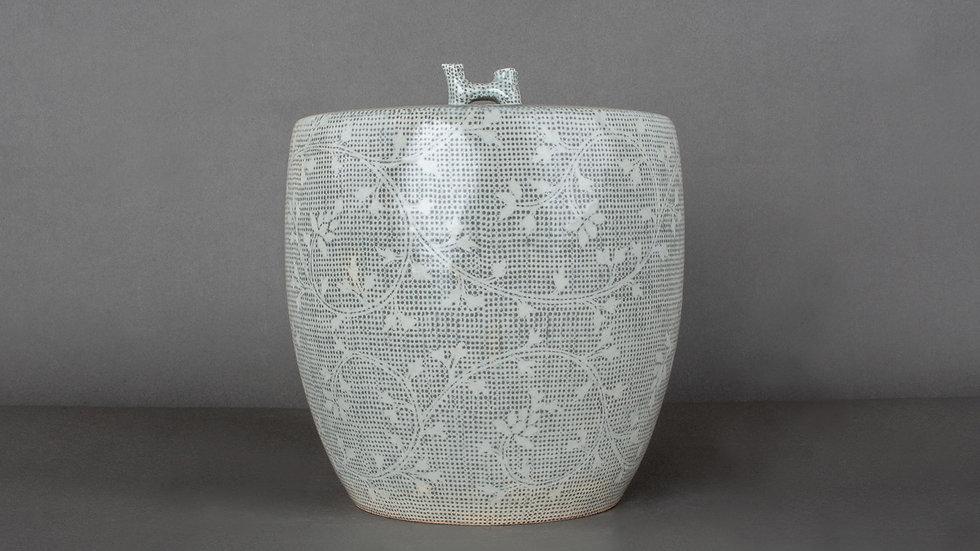 Buncheong Lidded Pot