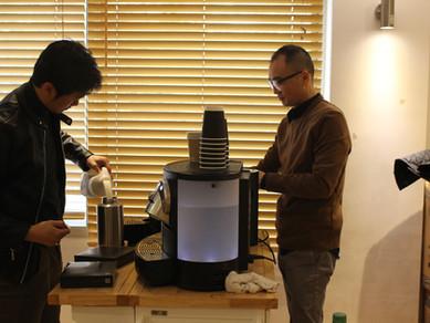 주일 커피 봉사