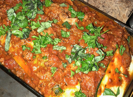 Paleo/Whole 30 Lasagna--Recipe of the month